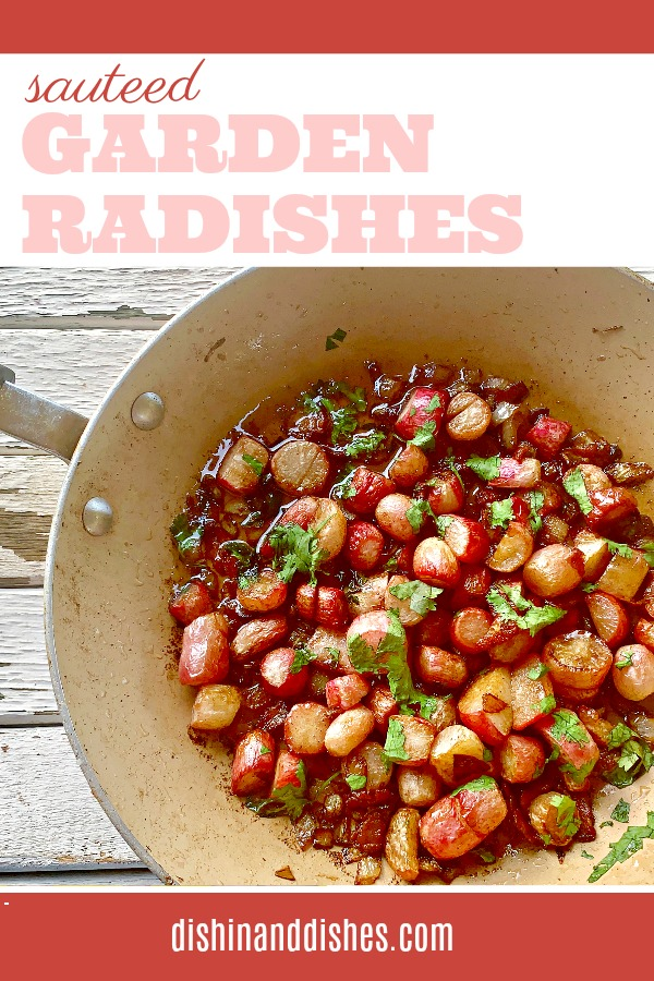 roasted radish recipe
