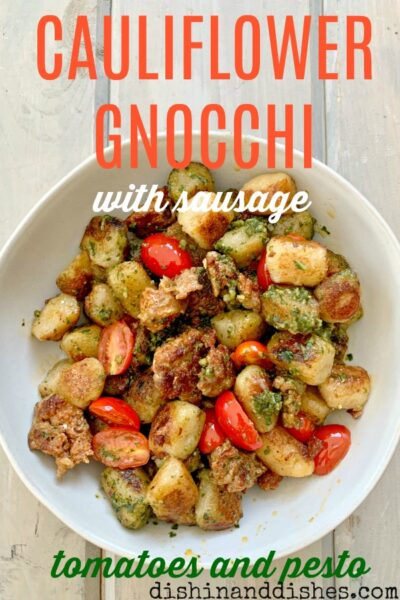how to make cauliflower gnocchi sausage