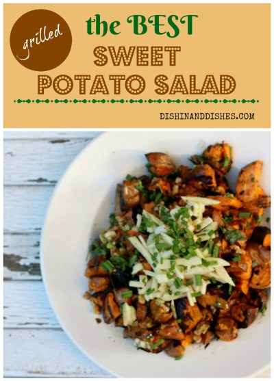 Geoffrey Zazarian's Sweet Potato Salad - Dishin & Dishes
