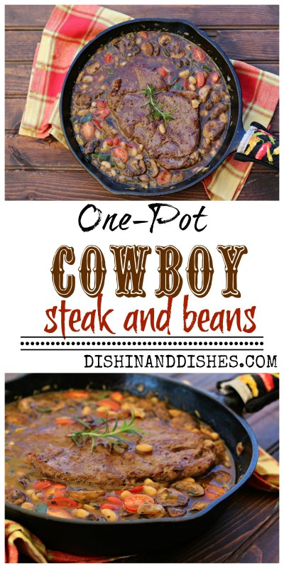 oy Steak and Beans Recipe-Dishin & Dishes