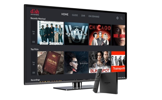 Watch DISH Anywhere On Amazons Fire TV
