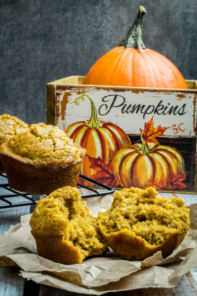 Soft, sweet, and made with just the right amount of pumpkin spice, Gluten Free Pumpkin Muffins are perfect on a chilly fall morning. These gluten free muffins are so easy to prepare and use real pumpkin puree to give them an honestly authentic flavor. Top with cream cheese, butter, or even a drizzle of maple syrup for a treat your whole family will love!
