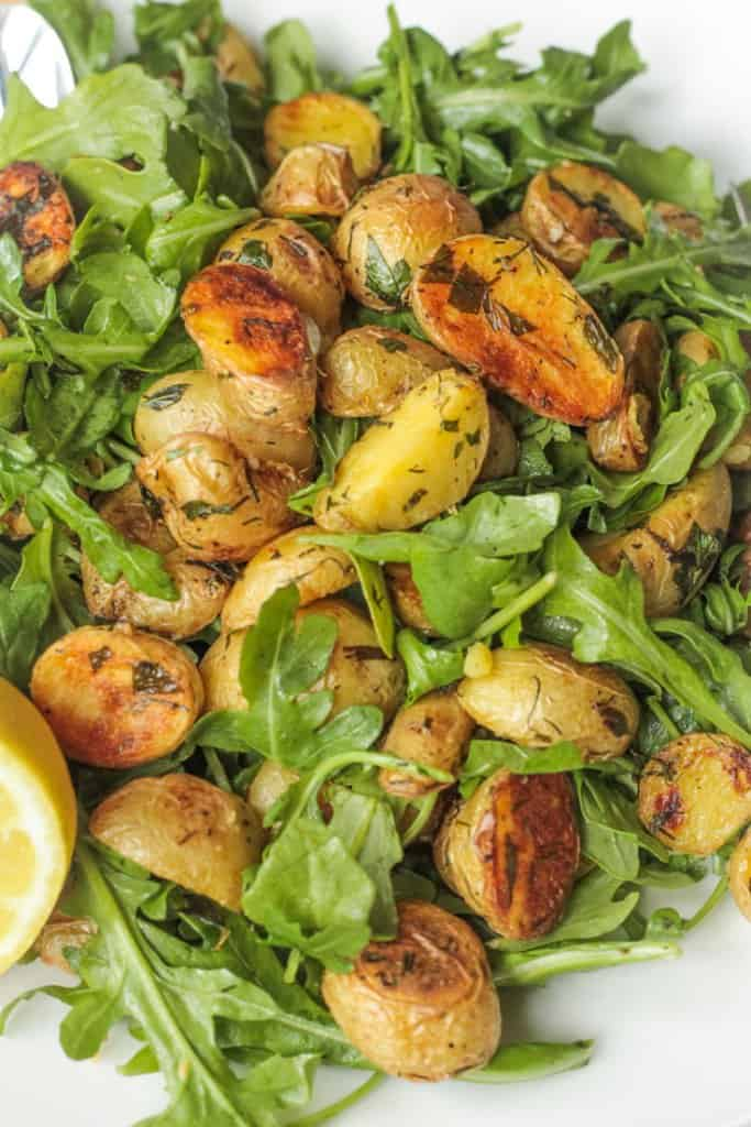 Roasted-Potato-Arugula-Salad
