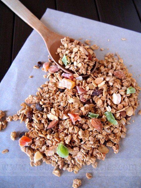 homemade gluten free granola