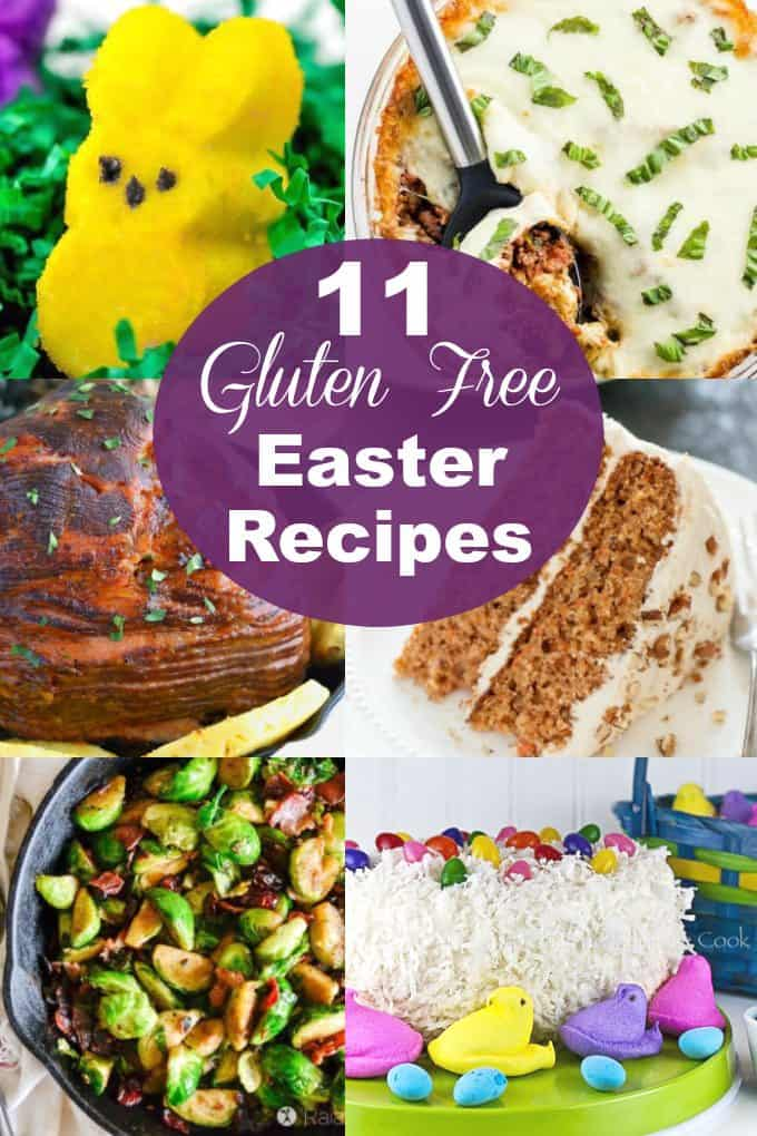 gluten free easter recipes