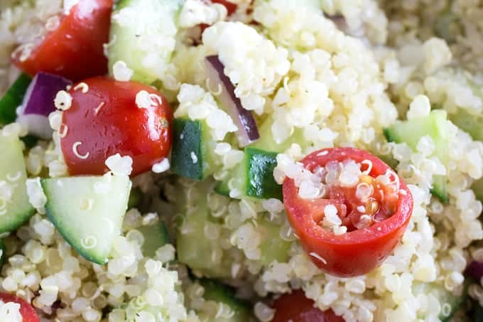 quinoa gluten free salad