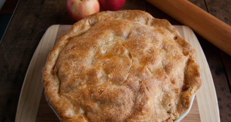 """LAZY"" APPLE PIE"