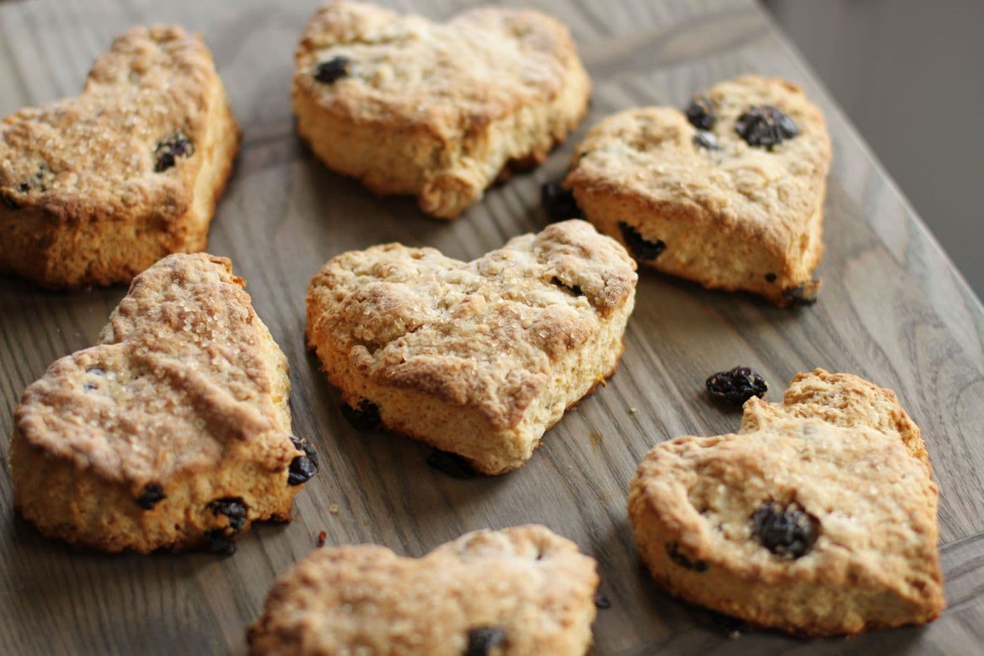 These Cranberry Scones begin with the fluffiest traditional scone batter and end with a little extra 'zest' from the addition of lemon and cranberry. #scones #breakfast #brunch #cranberry scones