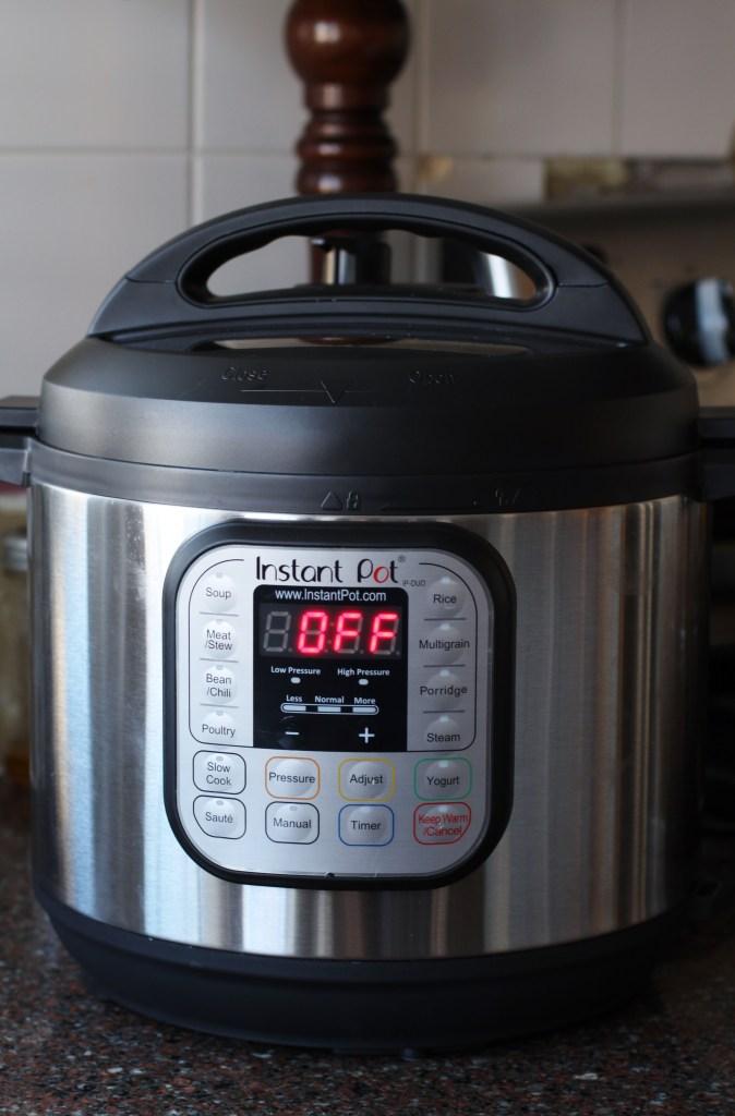 An instant pot in off position. #instantpot #instapot