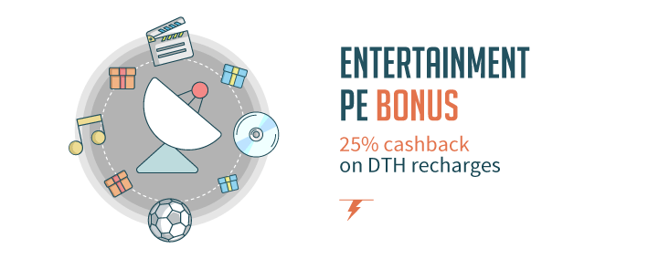 "Freecharge dth coupon code "" TV100 "" - get 25% cash back for online recharges"