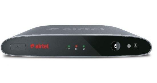 Airtel Internet TV Set Top Box