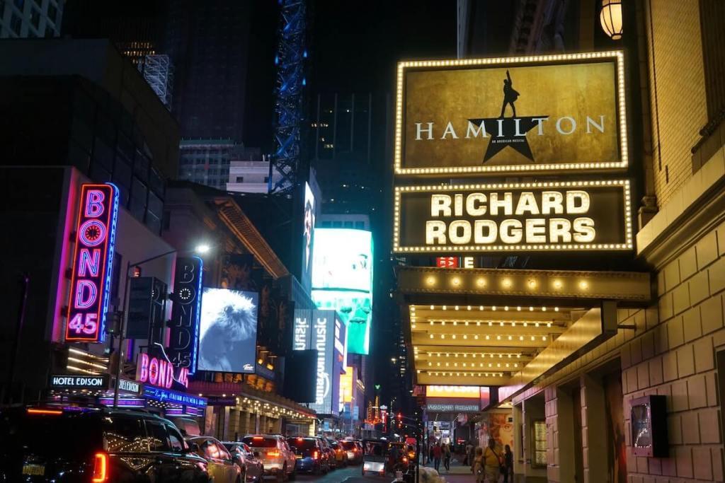 紐約自由行 百老匯