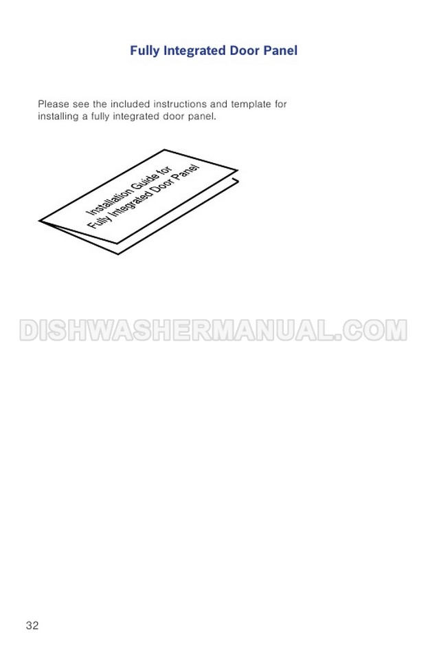 Bosch SHP865ZD5N Top Control Dishwasher Installation