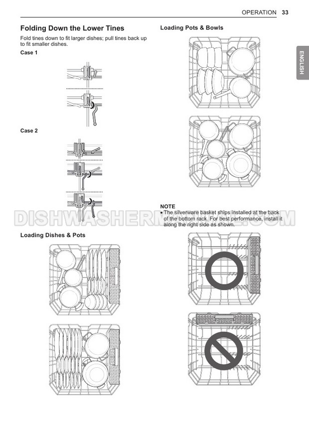 LG LDT5678SS Top Control Dishwasher Owner's Manual