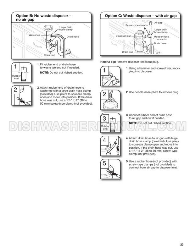 Maytag MDB4949SHZ Front Control Dishwasher Installation