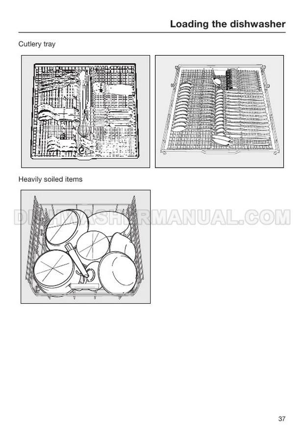 Miele G 4203 SC Dishwasher Operating Instructions