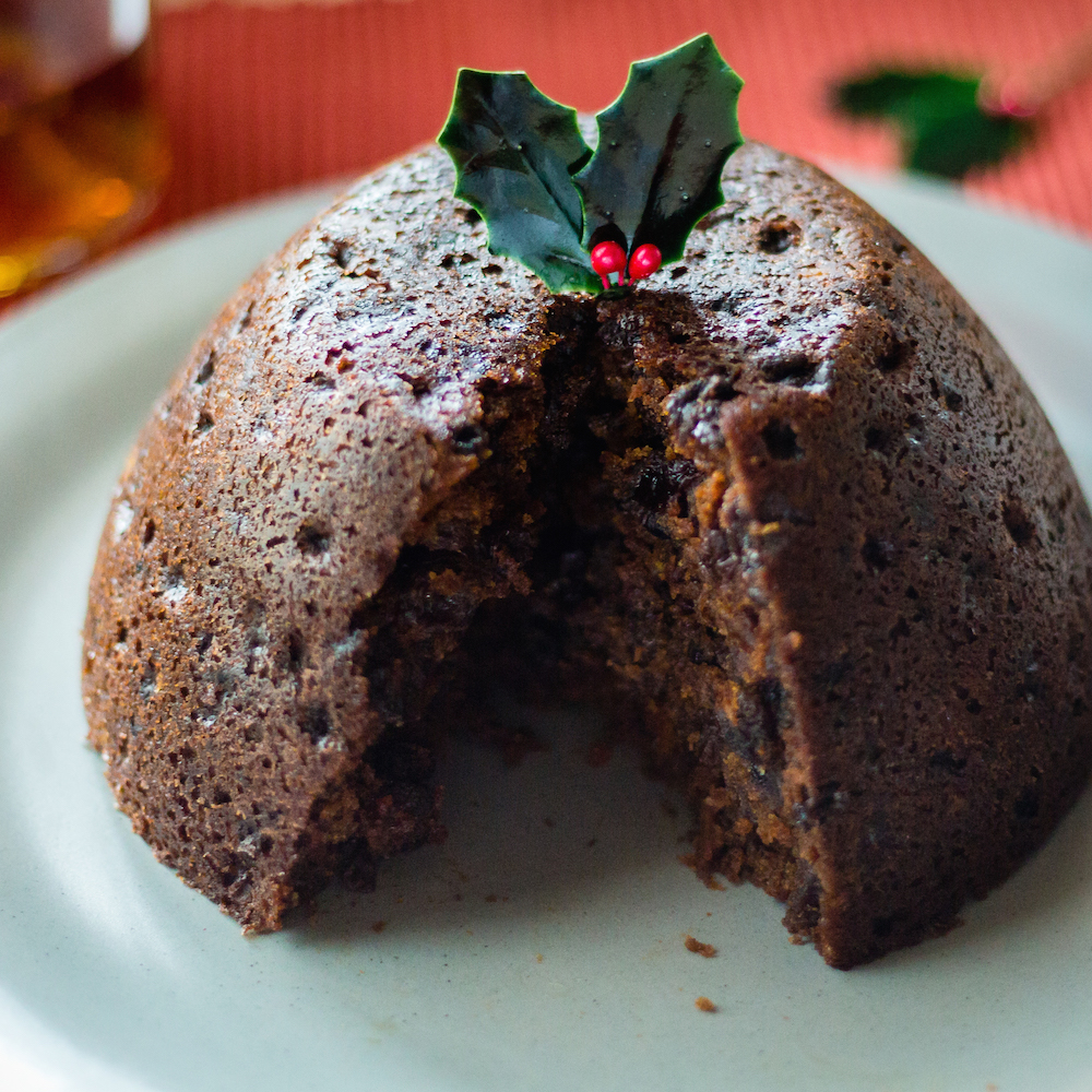 Divine Christmas Pudding | Dishymama