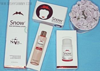 Snow Skin Whitening Line