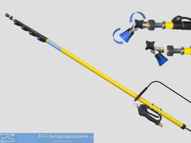 Funktionslanzen-Hochdruck-Teleskoplanze