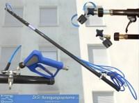 Fassadenreinigung-Chemielanze-Teleskoplanze-