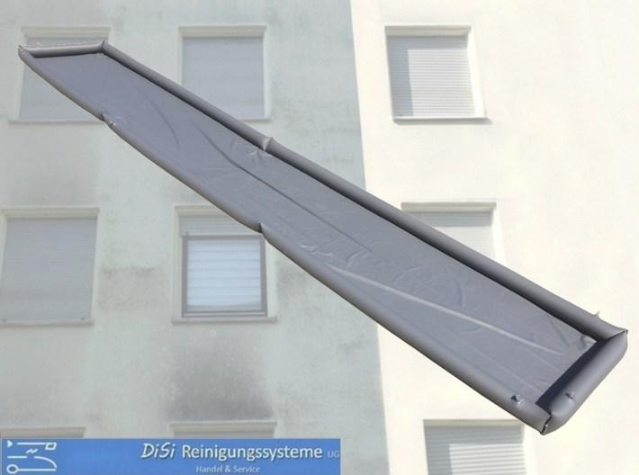 Fassadenreinigung-Schmutzwasser-Auffang-Plane-Wanne