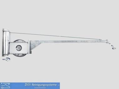 Schlauchaufroller-Schauchführung-Schwenkarm