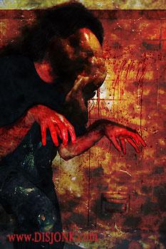 Blood Zombie Horror Gore And Blood Dark Art