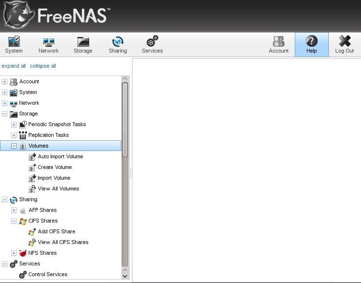 FreeNas and OpenFiler experimentation - disk91 com