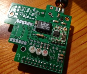 RFPRI shield - High Quality RF433 for raspberry