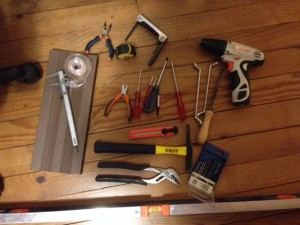 Needed tools to prepare the Tobecca2