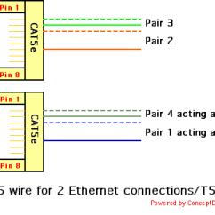 Rj45 Modular Jack Wiring Diagram Briggs And Stratton Endurance Series Koble To Ethernetkoblinger Gjennom En Kabel - Internett Og Nettverk Diskusjon.no