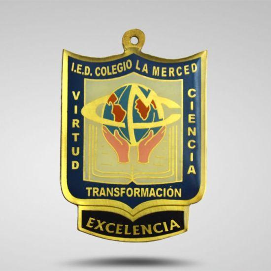 Medallas en bogota Colegio La Merced