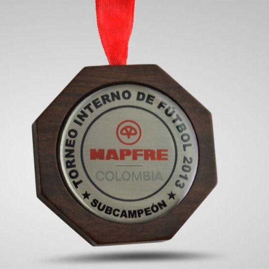 Medallas en bogota Subcampeon