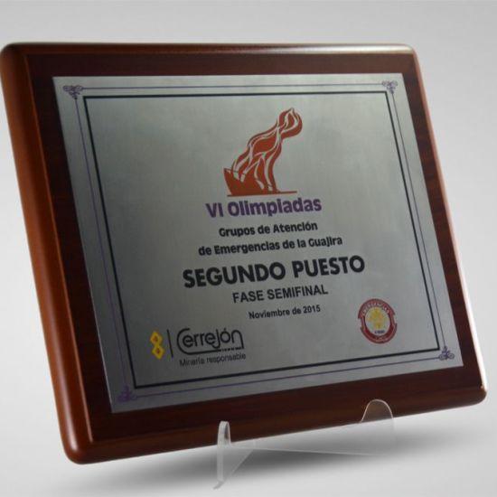 Placas Conmemorativas en Bogota Cerrejon