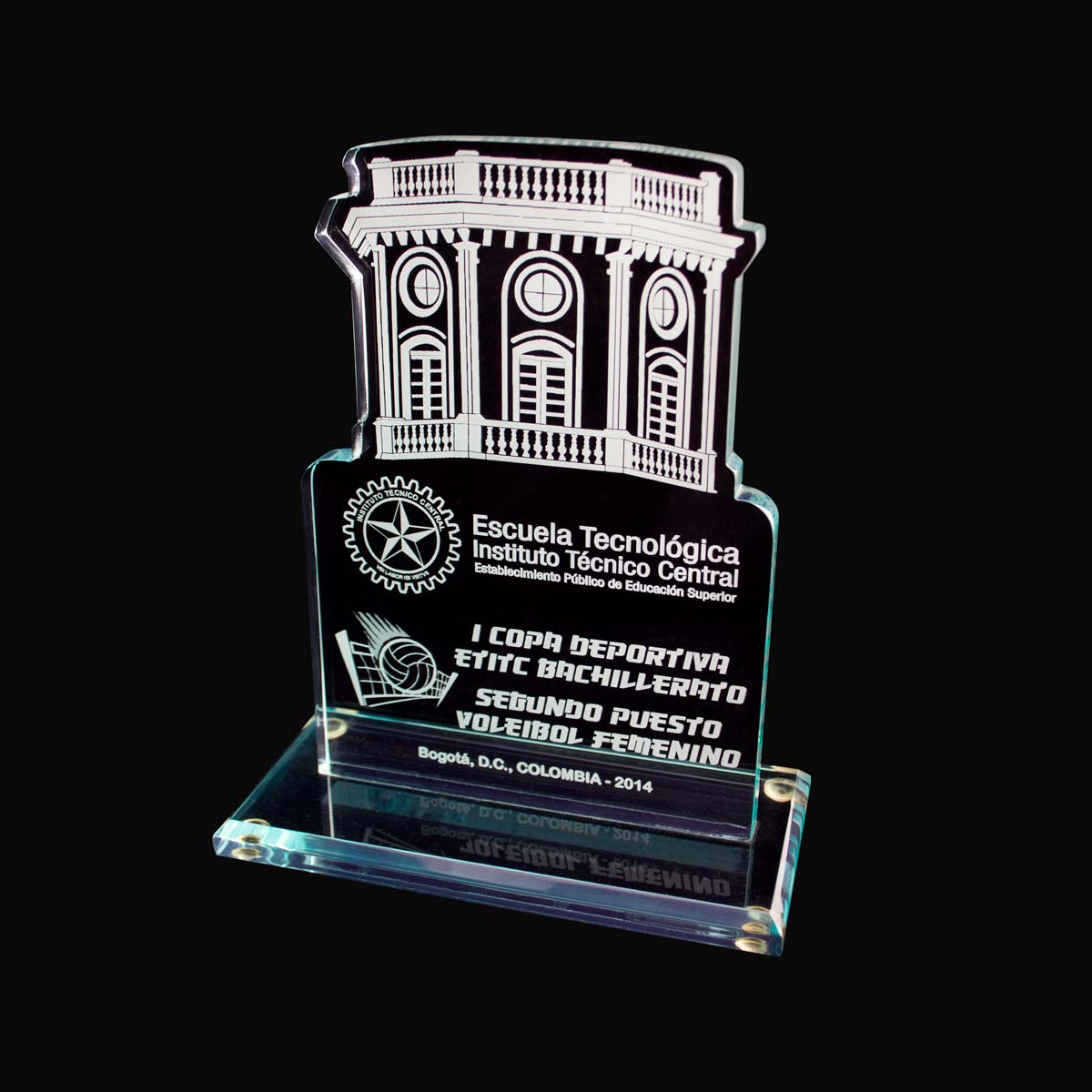 Trofeo Acrílico ITC
