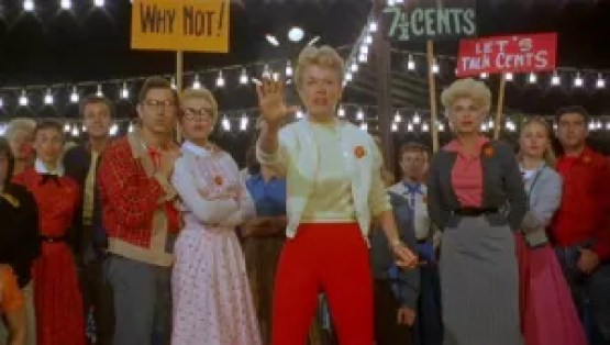 Doris Day leads a picket line in Pajama Game. Not exactly pro-union movies