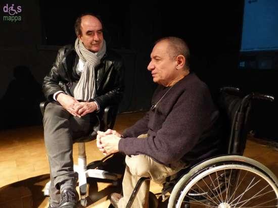 L'attore e regista Alessandro Garzella