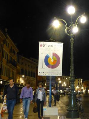 poster tocati in piazza bra verona