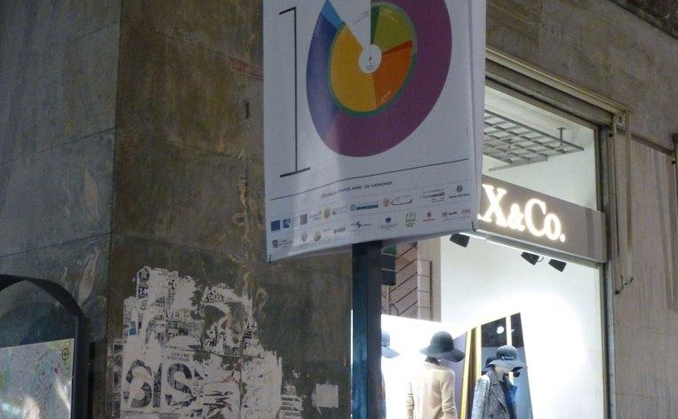 poster tocatì in via mazzini verona