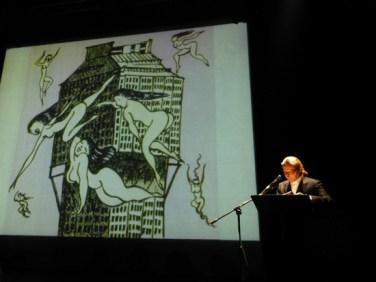 paolo valerio dino buzzati poema a fumetti teatro verona