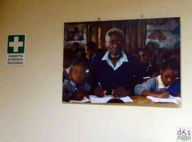 Mostra fotografica Come si dice scuola in Africa? allo spazio culturale della fondazione san zeno, via mazzini, verona