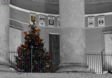Verona palazzo barbieri albero di natale comune
