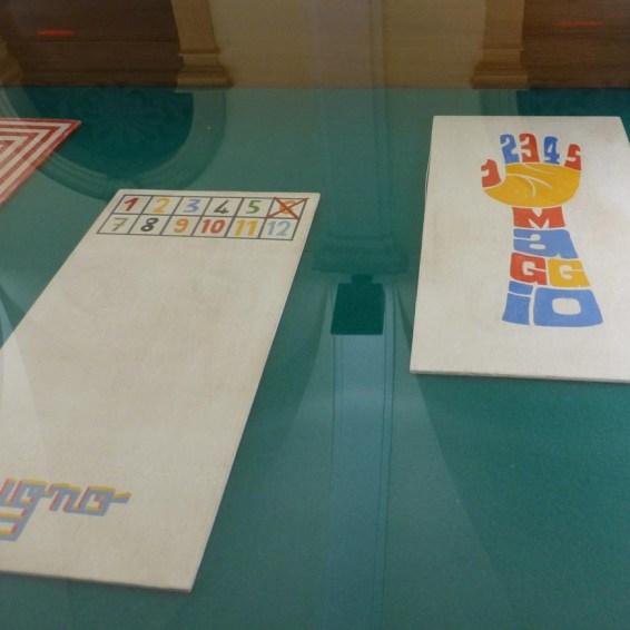 tavole originali per il calendario 2013 in mostra alla promoteca della biblioteca civica di verona
