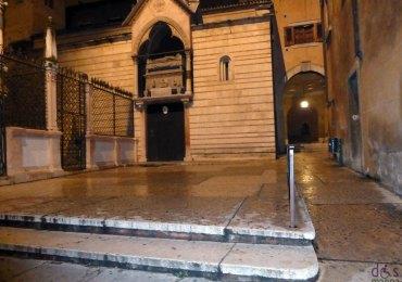 scivoli disabili chiesa di santa maria antica a verona