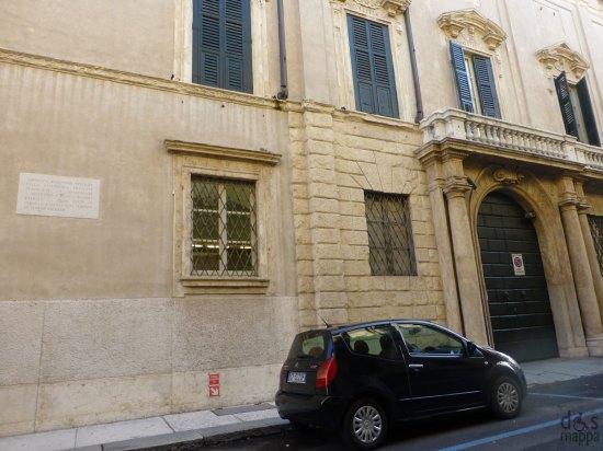 targa napoleone bonaparte via massalongo verona