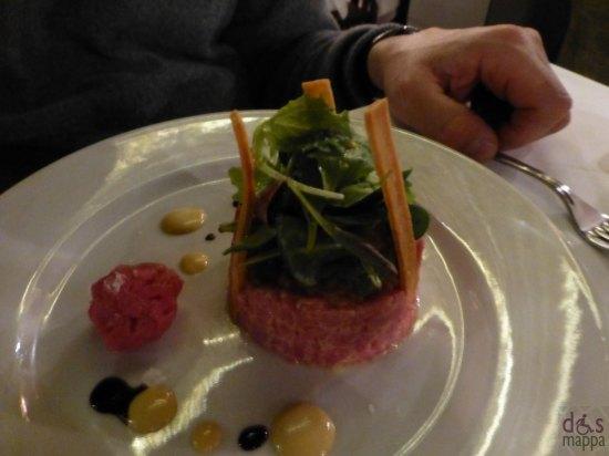 battuta di carne osteria ponte pietra ristorante verona