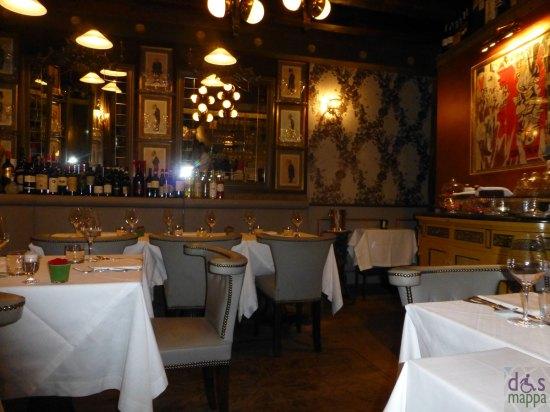 sala da pranzo osteria ponte pietra ristorante verona