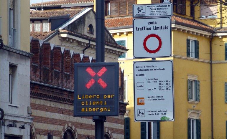 ztl centro storico verona