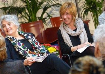 alessandraservidori consigliera nazionale di parità con la giornalista Alessandra Galetto del quotidiano l'Arena