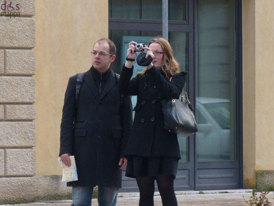 foto turisti centro storico verona